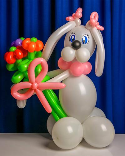самые простые фигуры из шариков